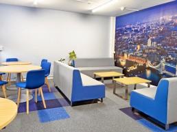 University of Nottingham Staff Room - B&M Installations